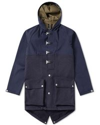 Nigel Cabourn - Authentic Cameraman Fishtail Split Parka - Lyst