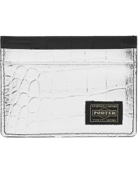 Head Porter - Croco Pass Case - Lyst