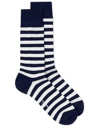 Blue Blue Japan - Indigo Dyed Yard Sock - Lyst