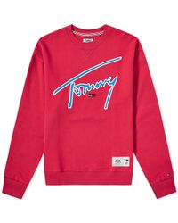 Tommy Hilfiger - Signature Crew Sweat - Lyst