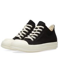 Rick Owens - Drkshdw Canvas Low Sneaker - Lyst