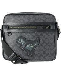 COACH - Rexy Signature Dylan Mini Messenger Bag - Lyst