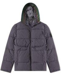 Stone Island Shadow Project - Naslan Garment Dyed Reflective Jacket - Lyst