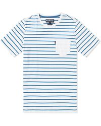Barbour - Nautical Tow Stripe Tee - Lyst