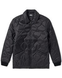 Stussy - Quilted Work Jacket - Lyst