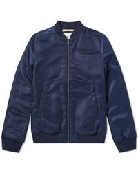 Norse Projects | Ryan Sateen Bomber Jacket | Lyst