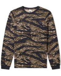 Nike - Tiger Camo Long Sleeve Tee - Lyst