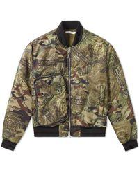Givenchy - Dollar Camo Bomber Jacket - Lyst