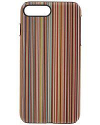 sports shoes 218cb 040ce Lyst - Paul Smith Multistripe Iphone 7 Plus / 8 Plus Case for Men