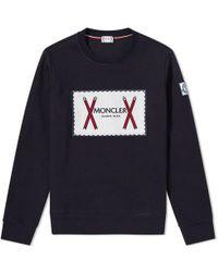 Moncler Gamme Bleu - Vintage Logo Crew Sweat - Lyst