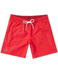 Lacoste - Classic Swim Short - Lyst
