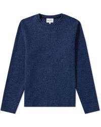 Norse Projects - Halfdan Indigo Sweat - Lyst