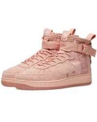 Nike - Sf Air Force 1 Mid Suede - Lyst