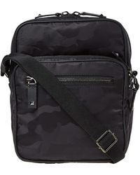 Valentino - Nylon Jaquard Camo Cross Body Bag - Lyst