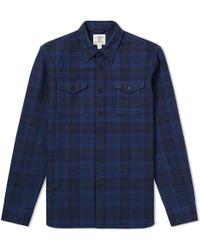 Kent & Curwen - Bramley Check Overshirt - Lyst