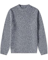 Folk - Mixed Yarn Crew Knit - Lyst