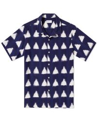 Universal Works | Short Sleeve Road Shirt | Lyst