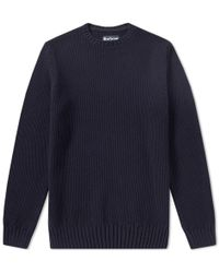 Barbour - Kelp Crew Sweat - Lyst