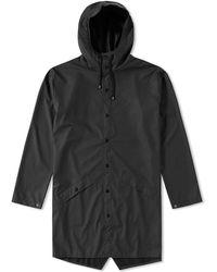 Rains - Long Jacket - Lyst