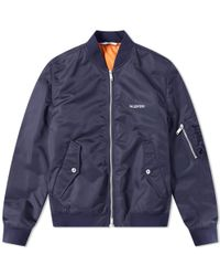 luxuriant in design latest sale how to buy Ma-1 Jacket - Blue