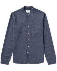 Oliver Spencer - Grandad Shirt - Lyst