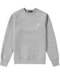 A Bathing Ape - Double Knit Crew Sweat - Lyst