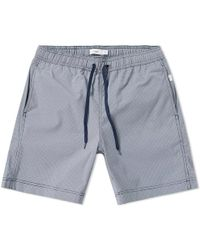 "Onia - Charles 7"" Micro Gingham Swim Shorts - Lyst"