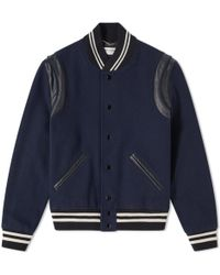 Saint Laurent - Classic Teddy Jacket - Lyst