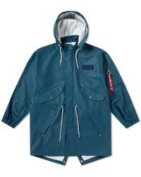 Stutterheim - X Alpha Industries M65 Fishtail Jacket - Lyst