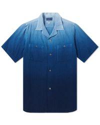 Blue Blue Japan - Faded Indigo Shirt - Lyst