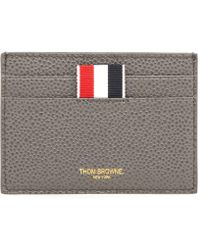Thom Browne - 4-bar Edge Stain Note Cardholder - Lyst