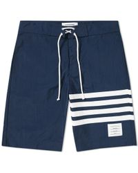 Thom Browne - Printed Stripe Board Short - Lyst