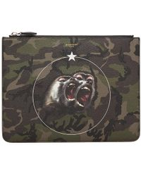 Givenchy - Large Monkey Brothers Zip Pouch - Lyst
