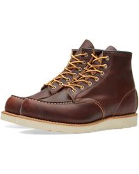 "Red Wing - 8138 Heritage Work 6"" Moc Toe Boot - Lyst"