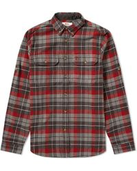 Fjallraven - Singi Heavy Flannel Shirt - Lyst