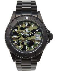 A Bathing Ape | 1st Camo Type 1 Bapex Watch | Lyst