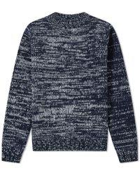 A.P.C. - Navy Marko Sweater - Lyst