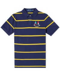 Polo Ralph Lauren - Crossed Flags Stripe Polo - Lyst