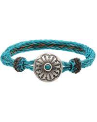 Chamula - Turquoise Concho Bracelet - Lyst