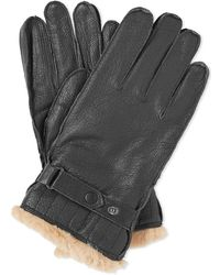 Barbour - Leather Utility Glove - Lyst