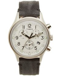Timex - Mk1 Sst Chronograph Steel Watch - Lyst