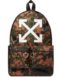 Off-White c/o Virgil Abloh Camo Arrow Backpack
