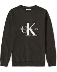 Calvin Klein | Ck Reissue Crew Sweat | Lyst