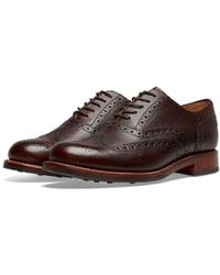 Grenson - Stanley Dainite Sole Brogue - Lyst
