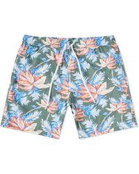 Hartford   Floral Swim Short   Lyst