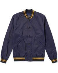 RRL - Contrast Tipping Varsity Jacket - Lyst