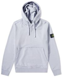 Stone Island - Garment Dyed Popover Hoody - Lyst