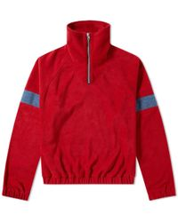 Gosha Rubchinskiy - Fleece Track Top - Lyst