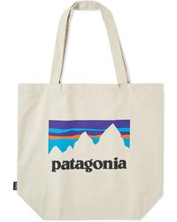 Patagonia - Shop Sticker Logo Market Tote - Lyst