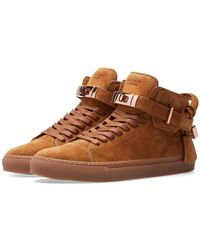 Buscemi - 100mm Suede High Sneaker - Lyst